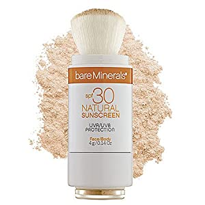 Bare Escentuals SPF 30 mineral powder Sunscreen in Hair