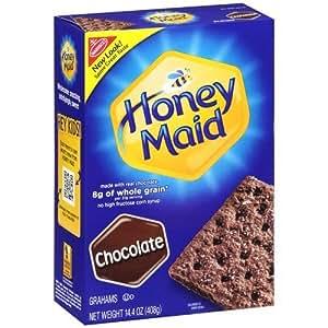 Nabisco, Honey Maid Graham Crackers, Chocolate, 14.4oz Box