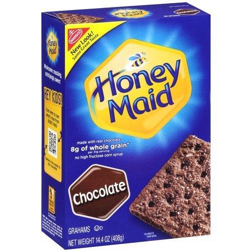 Nabisco, Honey Maid Graham Crackers, Chocolate, 14.4oz Box (Chocolate Graham Crackers compare prices)