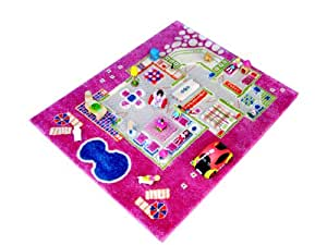 amazon   little helper ivi exclusive thick 3d childrens play mat