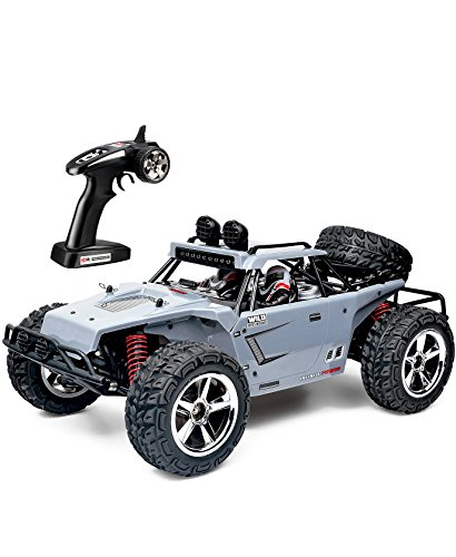 TOZO C5031 RC CAR Warhammer High Speed 30km / h 4x4 Fast Race Cars 1:12 RC SCALE RTR Racing 4WD ELECTRIC POWER BUGGY W/2.4G Radio Remote control Off Road Truck Powersport Gray (Electric Buggy compare prices)