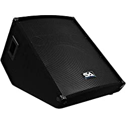 "Seismic Audio - SA-15MT - Pro Audio PA/DJ 15"" Monitors - 300 Watts RMS from Seismic Audio Speakers, Inc."