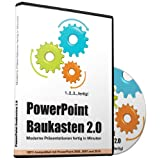 "PowerPoint Baukasten 2.0 - Pr�sentationen fertig in Minuten -- Mit �ber 6000 PowerPoint Vorlagen f�r Business, Kommunikation, Marketing, Vertrieb, Verkauf, Sales, Manager, Sekret�rinnen, Innendienst, B�romanagement, Management, Redner, Speaker, Personal, Teams, Vortr�ge, etc. - f�r Microsoft PowerPoint und Apple Keynotevon ""1000slides Media"""