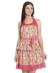 remanika Ladies Halter Neck Cotton DRESS 8903190396866