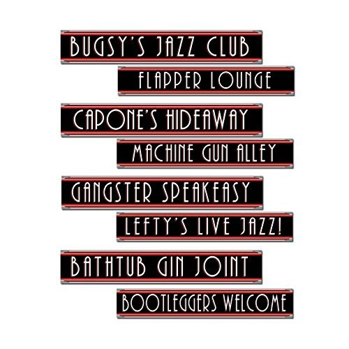 pk4-cutout-street-signs-printed-both-sides-gangster-themed-birthday-party-celebrations-accessories-d