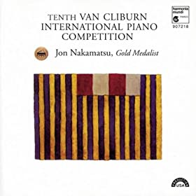10th Van Cliburn International Piano Competition: Gold Medalist