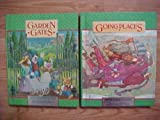 img - for Package of 2 Silver Burdett Ginn Gr 2 World of Reading Student Textbooks / Going Places / Garden Gates Sterling Edition ISBN 0663521262 / 0663520959 book / textbook / text book