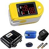 PULOX Doigt oxymètre de pouls PO-100 PULOX jaune