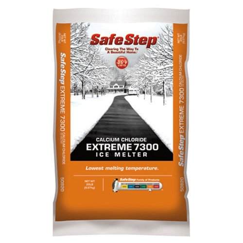 North American Salt 50820 Extreme 7300 Calcium Chloride Ice Melter, 20-Pound