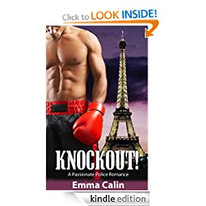 KND brand new Romance of the Week comes from a #1 kindle best seller in romantic suspense, romantic adventure & women sleuths: Emma Calin's KNOCKOUT! A PASSIONATE POLICE ROMANCE – A traditional romance with a hero, a heroine, a fated love affair & of course, deception and lies – 4.1 stars with over 30 rave Reviews and now just $2.99 or FREE via kindle lending library