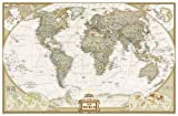 World Executive [Enlarged and Laminated] (National Geographic Reference Map)
