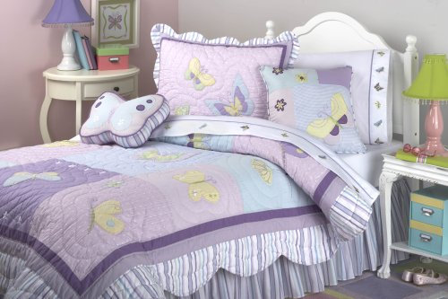 Butterfly Patch 200-Thread Count Sheet Set