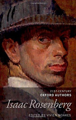 Isaac Rosenberg: 21st-Century Oxford Authors