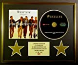 WESTLIFE/CD DISPLAY/LIMITED EDITION/COA/UNBREAKABLE - THE GREATEST HITS