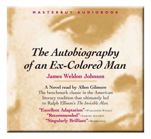 essays on autobiography of an ex-colored man This one-page guide includes a plot summary and brief analysis of the autobiography of an ex-colored man and essay topics this one despite the use of.