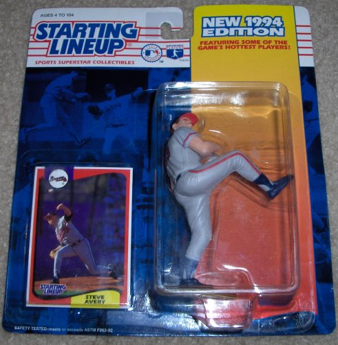 1994 Steve Avery MLB Starting Lineup Figure