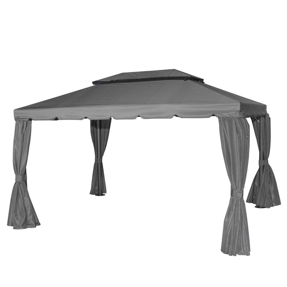 Siena Garden 727472 Pavillon Dubai, Dachbezug u. Seitenteile, L 300 x B 400 cm grau bestellen