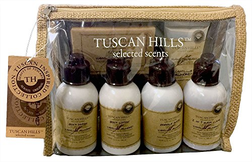 Tuscan Hills Selected Scents Vanilla Almond Body Care Set 7 piece set (Lice Lifters compare prices)