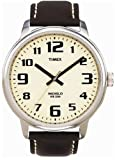 Timex Men's Brown Leather Easy Reader Watch #T28201