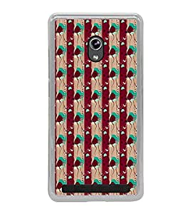 ifasho Animated Pattern design colorful flower in vertical stripe Back Case Cover for Asus Zenfone 5