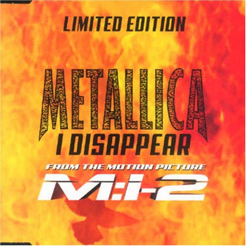 Metallica - I Disappear (Maxi) - Zortam Music
