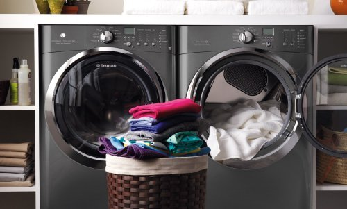 Electrolux Laundry Bundle | Electrolux Eifls60Lt Washer & Electrolux Eimed60Lt Electric Dryer - Titanium