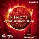 Gian Carlos Menotti: Apocalisse / Fantaisie pour violoncelle / Suite