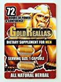 Gold Reallas Natural Herbal Supplement GoldReallas for Men 2 pills