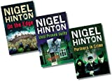 Nigel Hinton Barrington Stoke Teenage Boys' Thriller Fiction Collection (Dyslexia Friendly) - 3 Books RRP £20.97 (On the Edge; Partners in Crime; Until Proven Guilty)