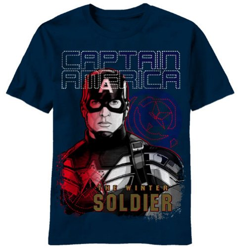 Captain America The Winter Soldier T-Shirt E0626YS