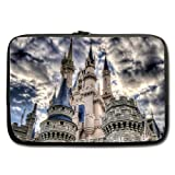 Disney Castle Art Sleeve for Macbook Pro 13 inch (Two Sides)