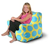 Sol Kids Indoor/Outdoor Anywhere Chair - Yellow/Blue