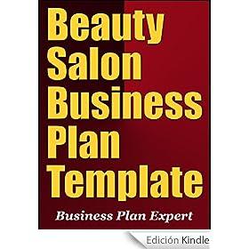 Beauty salon business plan template english edition for A beauty salon business plan