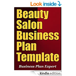 Beauty salon business plan template ebook for A salon business plan