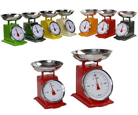 Balance de Cuisine Ou Ménage Rouge 2 kg