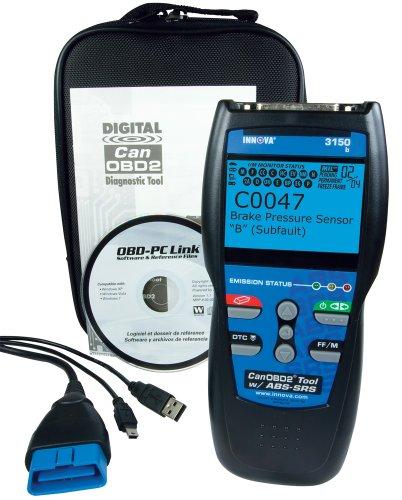 INNOVA 3150 ABS / SRS + Professional CanOBD2 Diagnostic Code Scanner