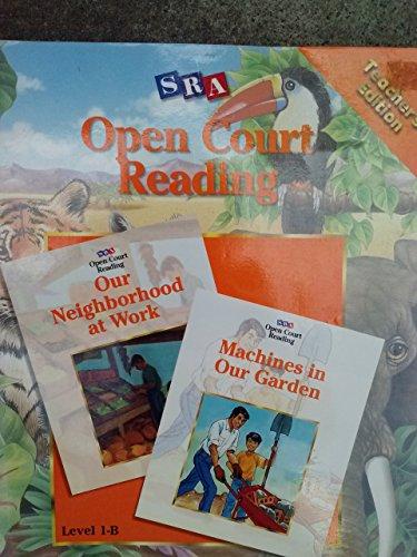 SRA Open Court Reading Level 1 Book B Teacher's Edition (Level 1-B) PDF