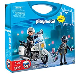 Playmobil City Action 5891 Police Carry Case