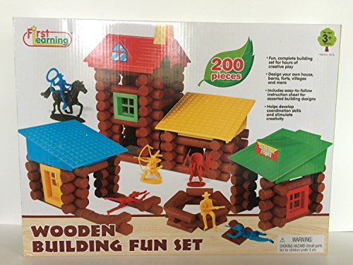 First Learning Wooden Building Fun Set (Wooden Building Fun Set compare prices)