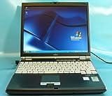 中古ノートパソコン 富士通 FMV-B8200 (C-M 1.0G/512M/40G/XP Pro/指紋認証)