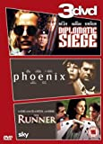 Diplomatic Siege/The Runner/Phoenix [DVD]