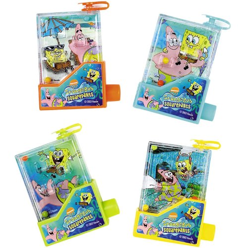 SpongeBob Water Games (4 count)