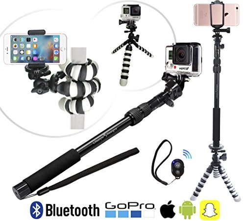 The-GRIPSTICK-3-in-1-HD-Action-Selfie-Stick-Pole-Flexible-Tripod-Duo-for-New-GoPro-iPhone-6-Android-Smartphones-Cameras-Bluetooth-Remote-Carry-Bag-Included