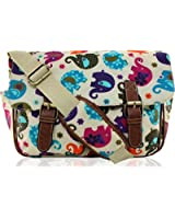 KukuBird brand new Polka Dot satchel, messenger, cross body bag