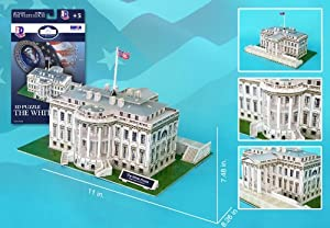The White House 3D Puzzle, 64 Pcs