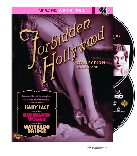 Cover art for  TCM Archives: Forbidden Hollywood Collection - Volume One (Waterloo Bridge (1931) / Baby Face / Red-Headed Woman)