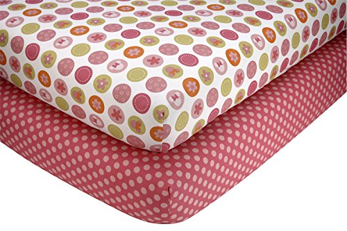 Disney Minnie Petals Perfect 2 Piece Sheet Set