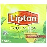 Lipton Green Tea, 100% Natural 100 ct