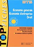 echange, troc d. Soret-Catteau, Philippe Senaux - Economie generale, économie d'entreprise, droit, bts première et deuxième annees : livre de l'eleve
