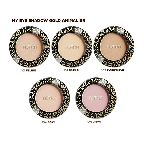 ASTRA OMBRETTO my eye eyeshadow Gold Animalier 101 Feline